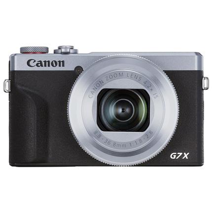 Canon PowerShot G7 X III Silver Compact Camera