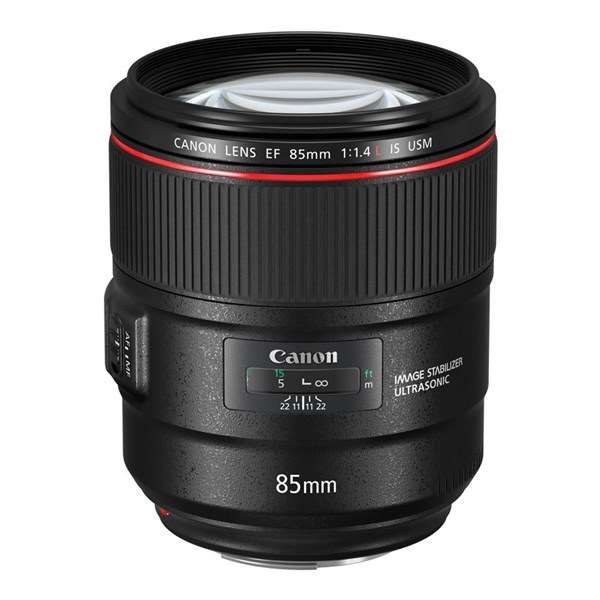 Canon EF 85mm f/1.4L IS USM Short Telephoto Lens