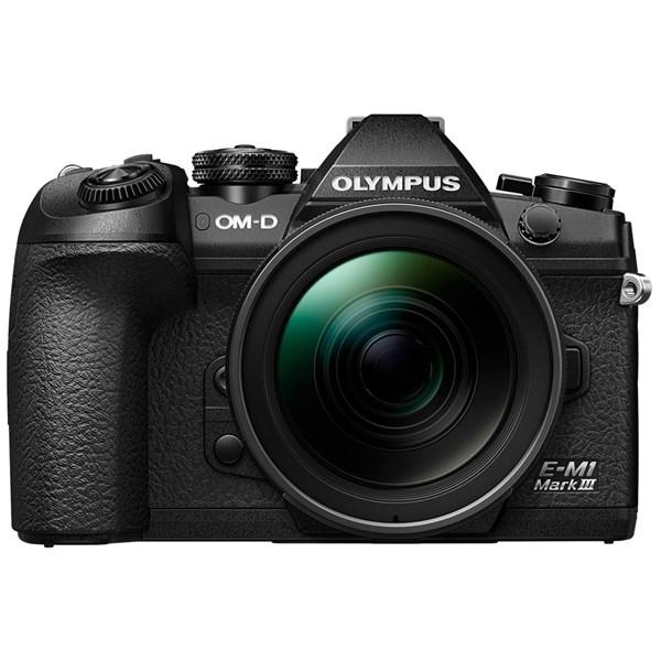 Olympus OM-D E-M1 MK III Camera With 12-40mm f/2.8 PRO Lens Kit