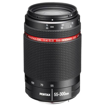 HD Pentax-DA 55-300mm f/4-5.8 ED WR Telephoto Zoom Lens