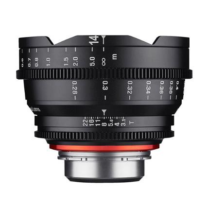 Samyang XEEN 14mm T3.1 Cine Lens - Canon Fit