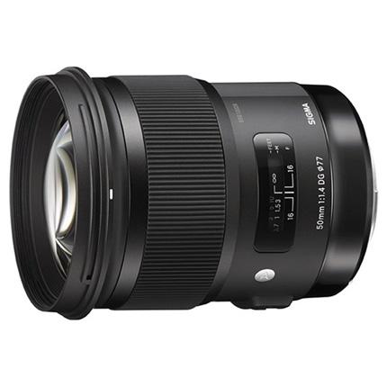 Sigma 50mm f/1.4 DG HSM Art Lens Sony E