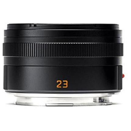 Leica Summicron T 23mm f/2 ASPH Lens Black Anodised
